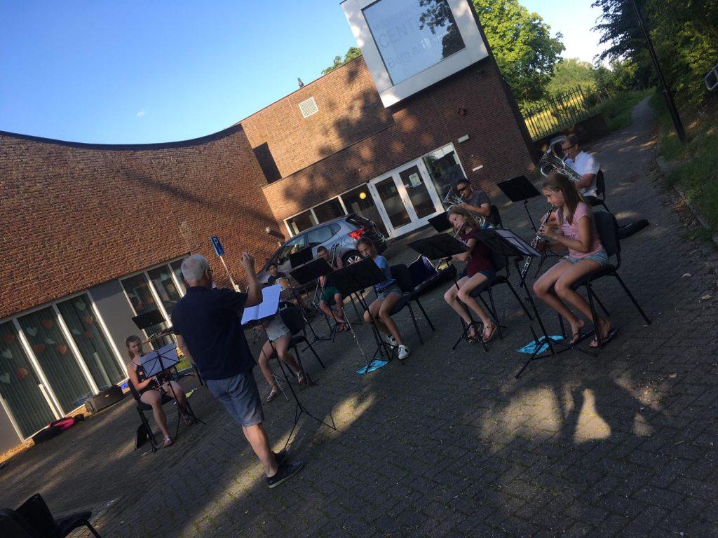 Afsluitingsconcert jeugdharmonie 9 juli