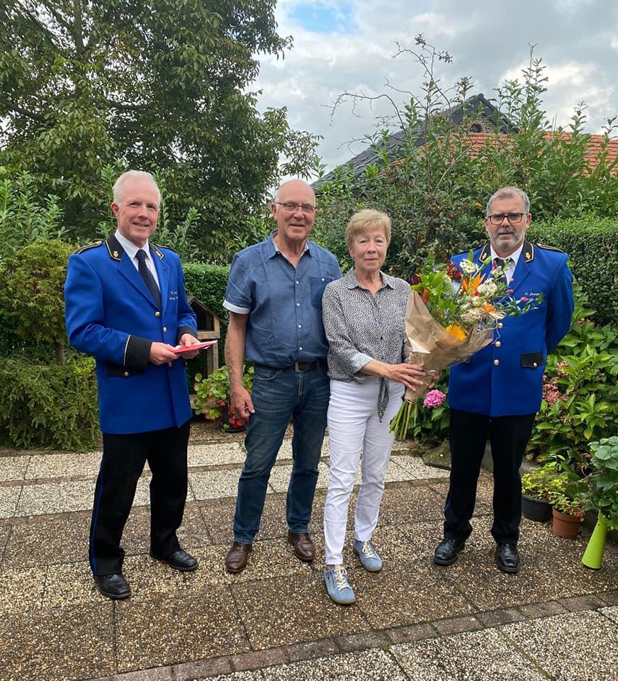 Gouden bruidspaar Els en Thei Savelkoul-Coenen