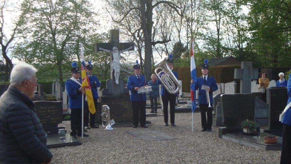 Dodenherdenking Berg aan de Maas 8 Mei 2021
